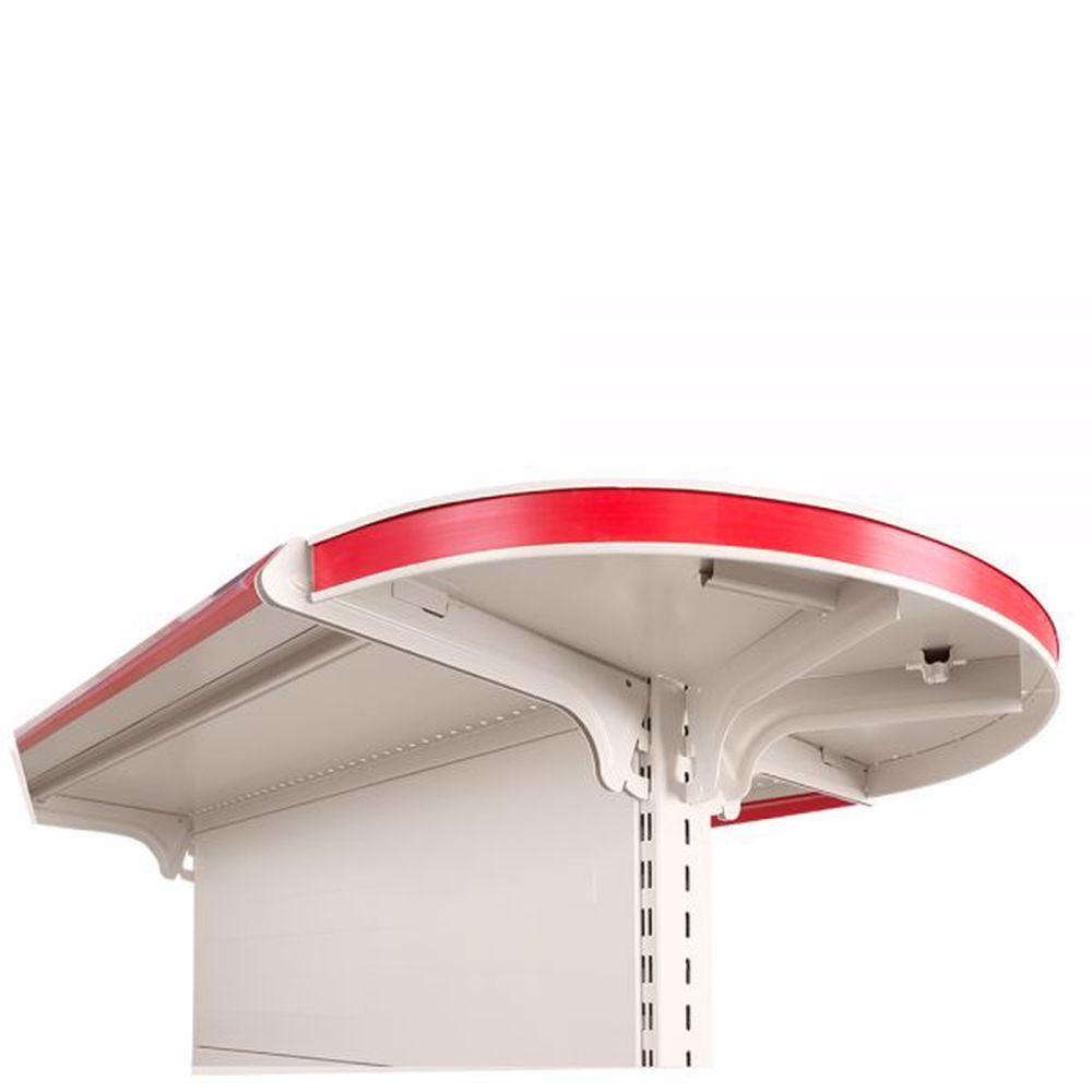 Round Gondola Head Unit 50cm x 195cm  A50cm  / 4X40cm